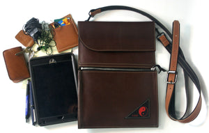 Leather Tablet/I-Pad Hip Bag Eta