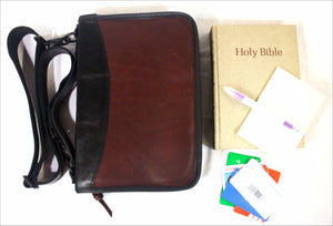 Bible Case Deluxe in Leather