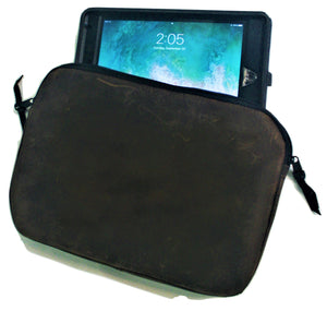 Leather Tablet/I-Pad Gusset Case