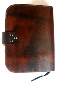 Bible Wrap with Corners in Leather