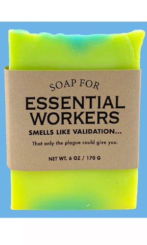 PANDEMIC 2020 Whisky River Soap - ESSENTIAL WORKERS