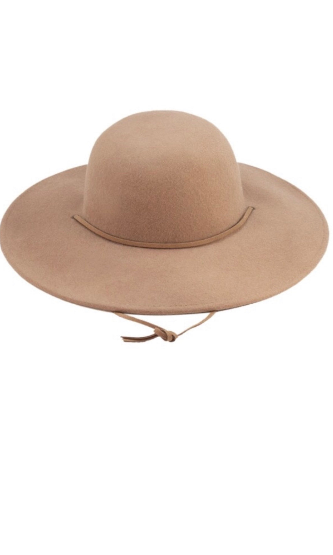 Collins Camel Boho Floppy Wide Brim Hat