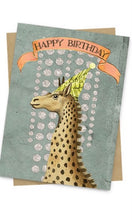 "Papaya ""Happy Birthday"" 3x5 Gift Greeting Card"