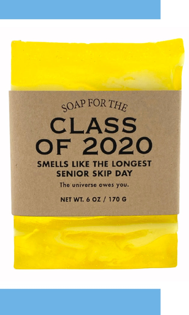 PANDEMIC 2020 Whisky River Soap - CLASS OF 2020