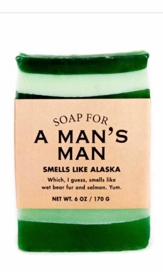 Whisky River Soap for A Man's Man