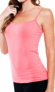 Cecily Seamless Short Strappy Tank Top