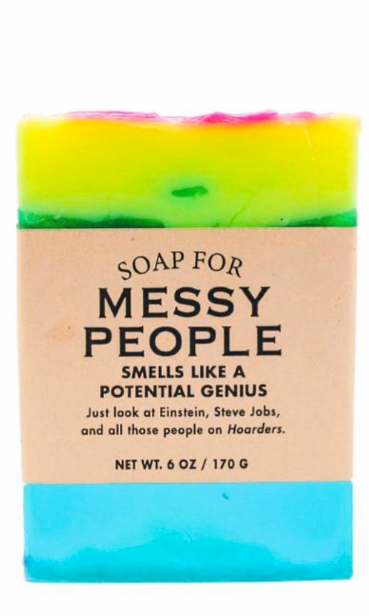 Whisky River Soap for Messy People