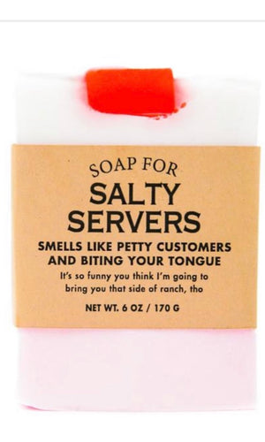 Whisky River Soap for Salty Servers
