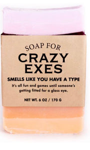 Whisky River Soap for Crazy Exes