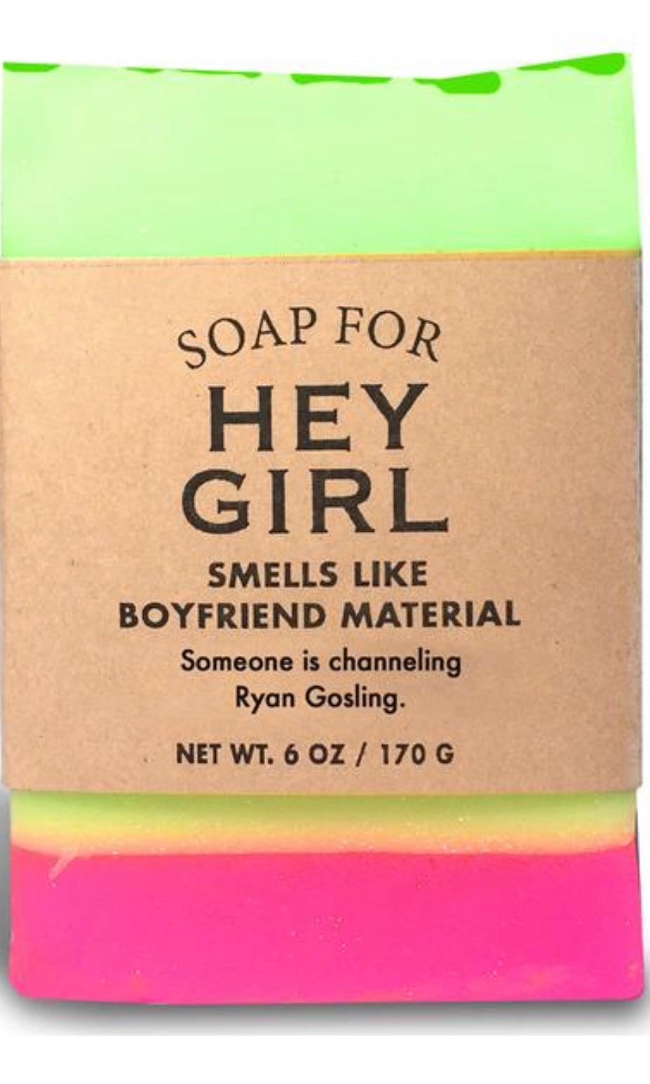 Whisky River Soap for Hey Girl