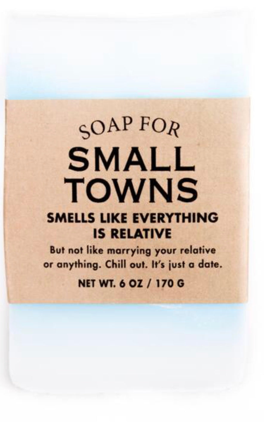Whisky River Soap for Small Towns