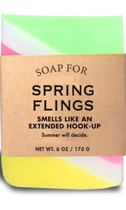 Whisky River Soap for Spring Flings