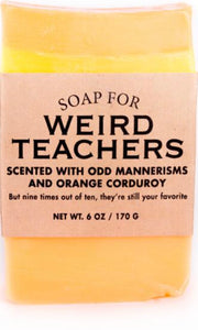 Whisky River Soap for Weird Teachers