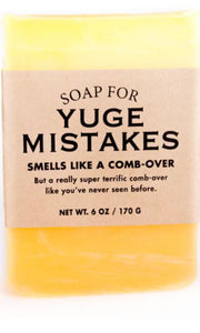 Whisky River Soap for Yuge Mistakes