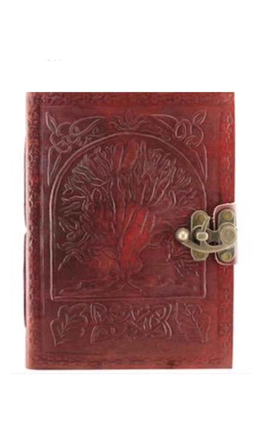 Journalet's Leather Embossed Tree of Life Leather Journal