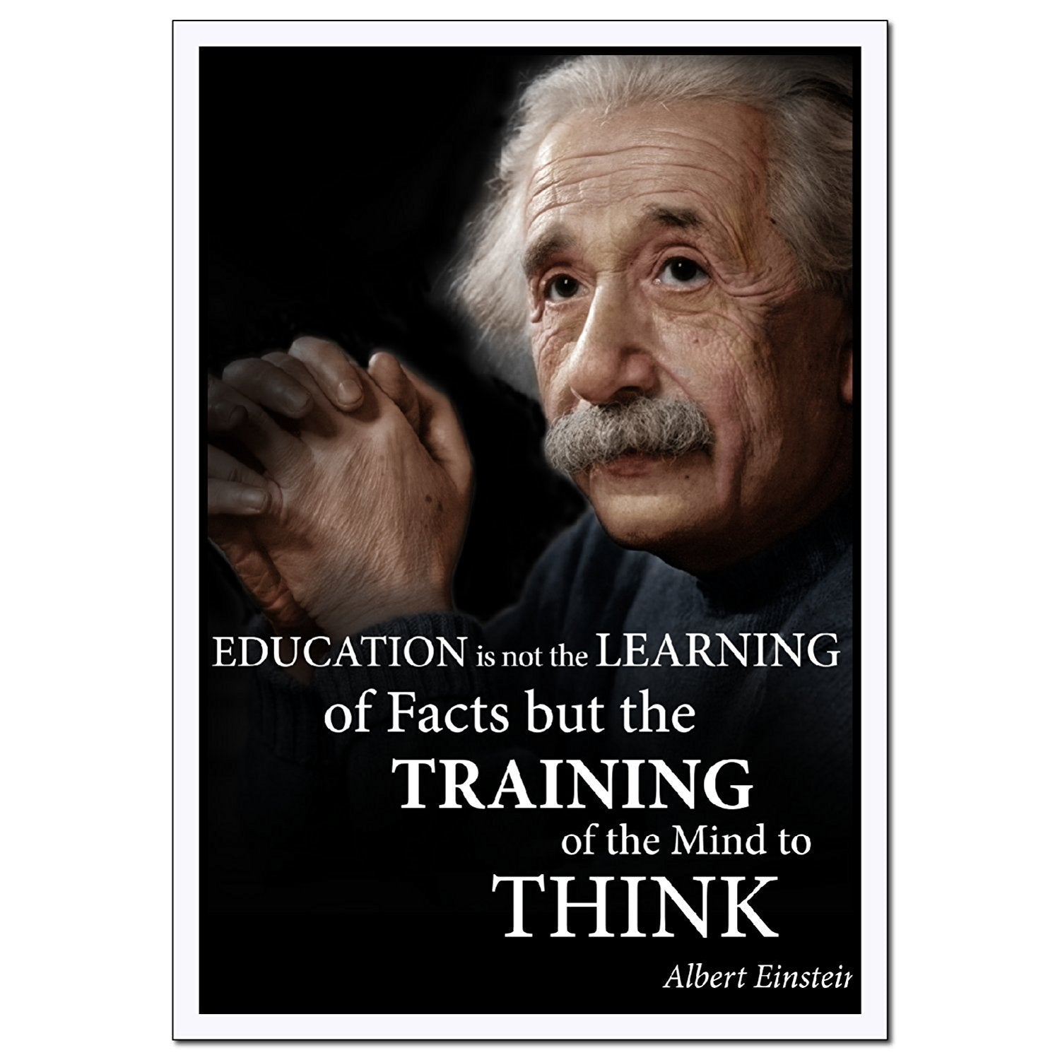 Training of the mind to think Albert Einstein classroom