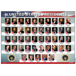 United States Of America Presidents Poster Flag Metal Landscape