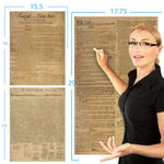 American Founding documents 3 pack Laminated replica