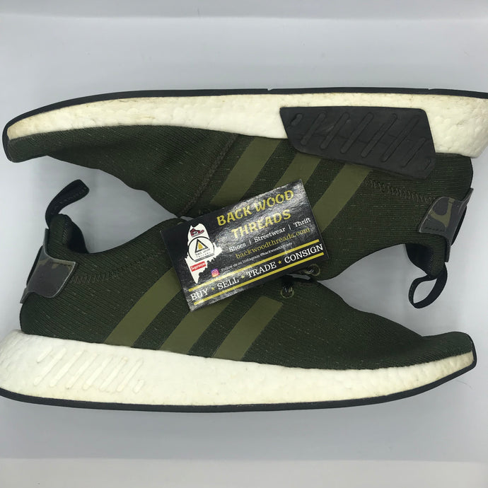 Adidas NMD R2 Olive Cargo (Size 11.5)