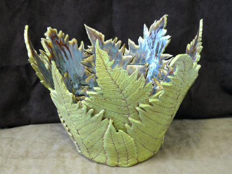 Ceramic Fern Vessels