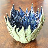 Fern Bowl by Lisa D Pottery
