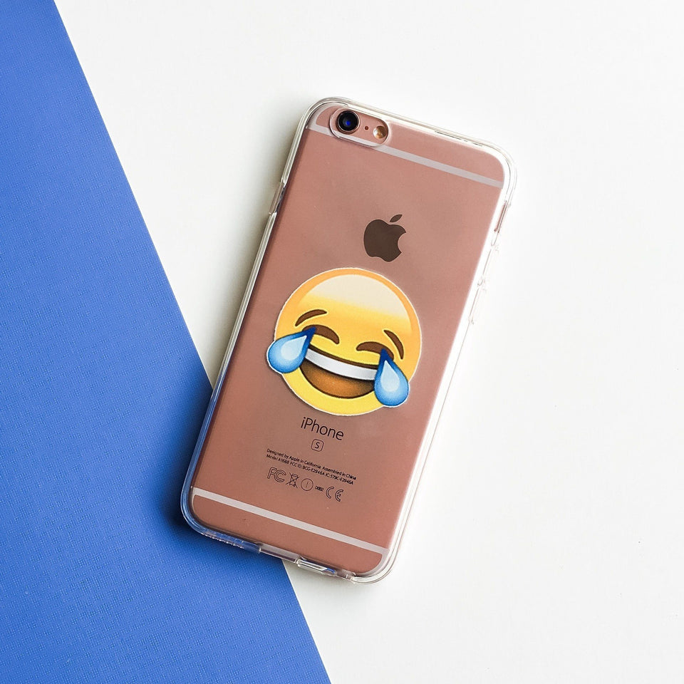 LOL Emoji - Clear Case Cover