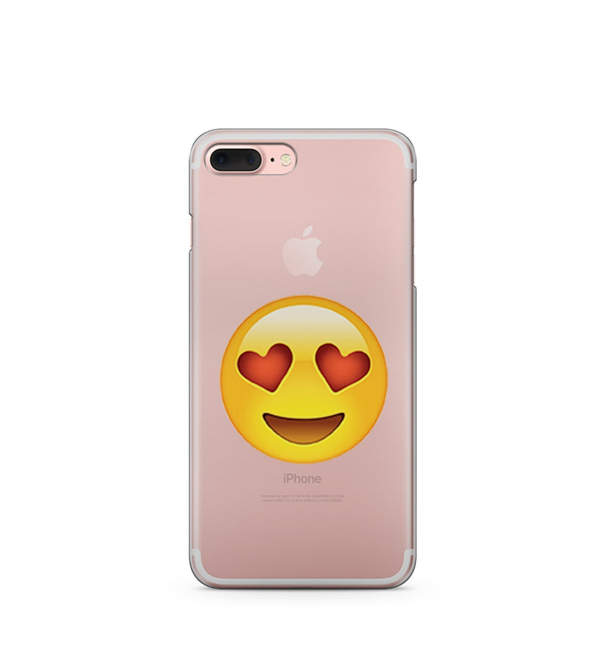 Love Emoji - Clear Case Cover