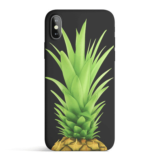 Pineapple Head - Colored Candy Matte TPU iPhone Case Cover