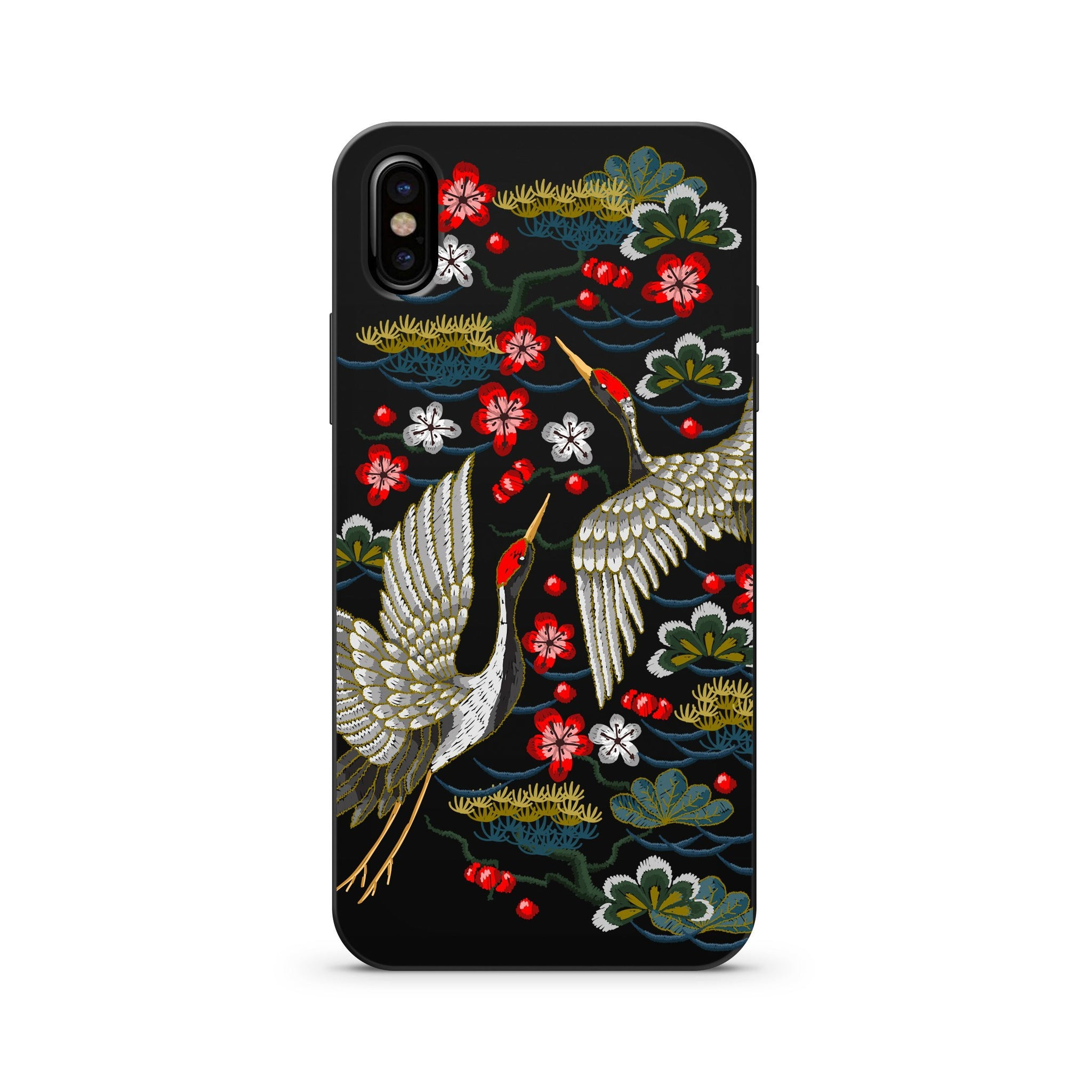 a7d2ee113d Black Wood Printed iPhone Case / Samsung Case Phone Cover - Japanese ...