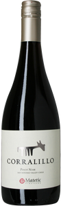 2016 Pinot Noir Corralillo, Matetic, Chile, biodynamisk