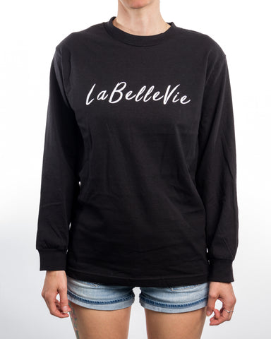 LaBelleVie Black Longsleeve F