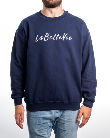 LaBelleVie Marine Crewneck