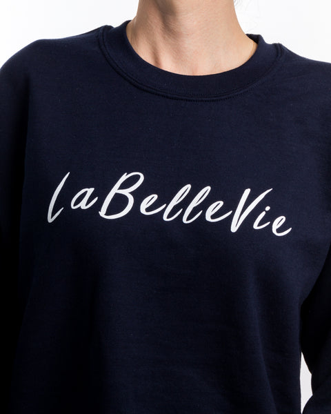 LaBelleVie Marine Crewneck F