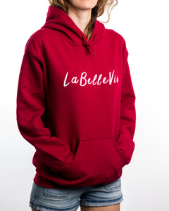 LaBelleVie Cardinal Red Hoodie F