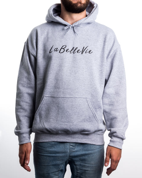LaBelleVie Heather Grey Hoodie