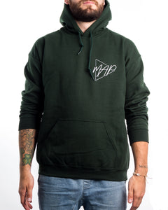 Basic MAP Logo Forest Green Hoodie
