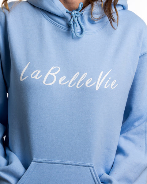 LaBelleVie Light Blue Hoodie F
