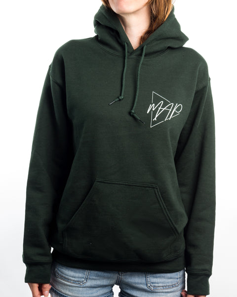 Basic MAP Logo Forest Green Hoodie F