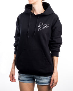 Basic MAP Logo Black Hoodie F