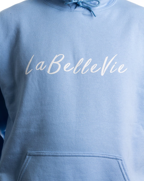 LaBelleVie Light Blue Hoodie