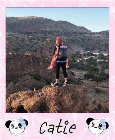 My Panda Can climb the mountain with her. Thank you Naked Panda for helping our kiddo be able to enjoy life.