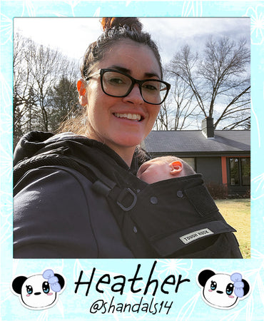 My Panda can help this brand new mommy and babe get out for a neighborhood stroll.