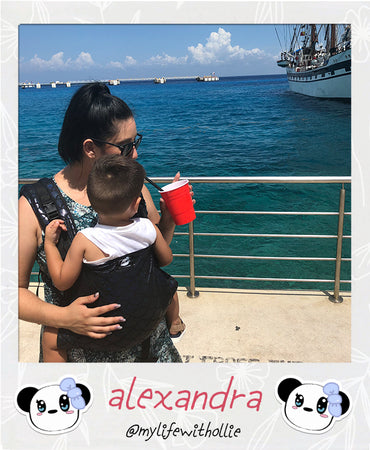 Let mommy enjoy a day in Cozumel, Mexico with a toddler.