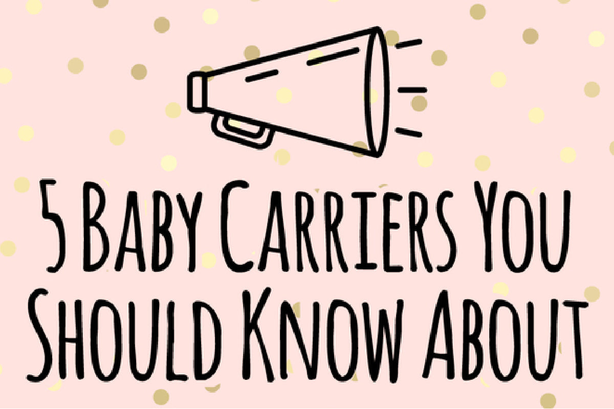 5 baby carriers you should know