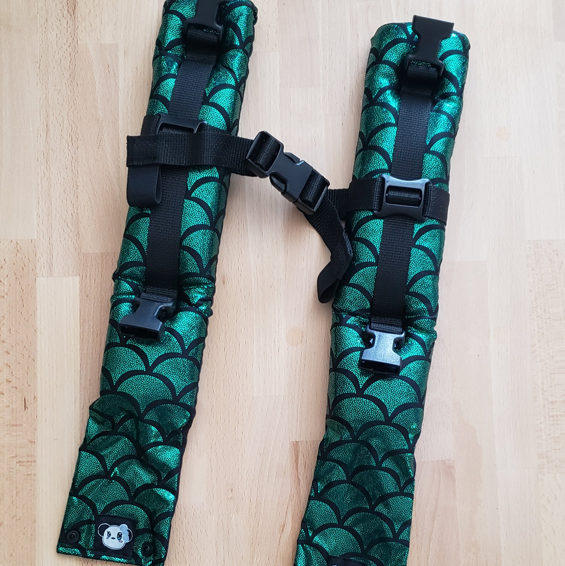 Mer Shoulder Straps - Pascal - Naked Panda Designs LLC