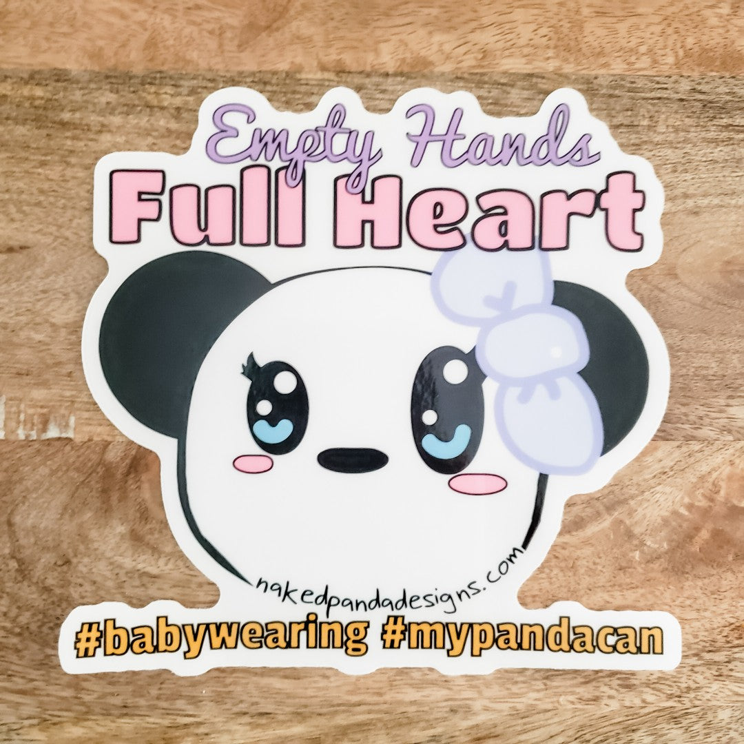 "6"" Full Heart Sticker"