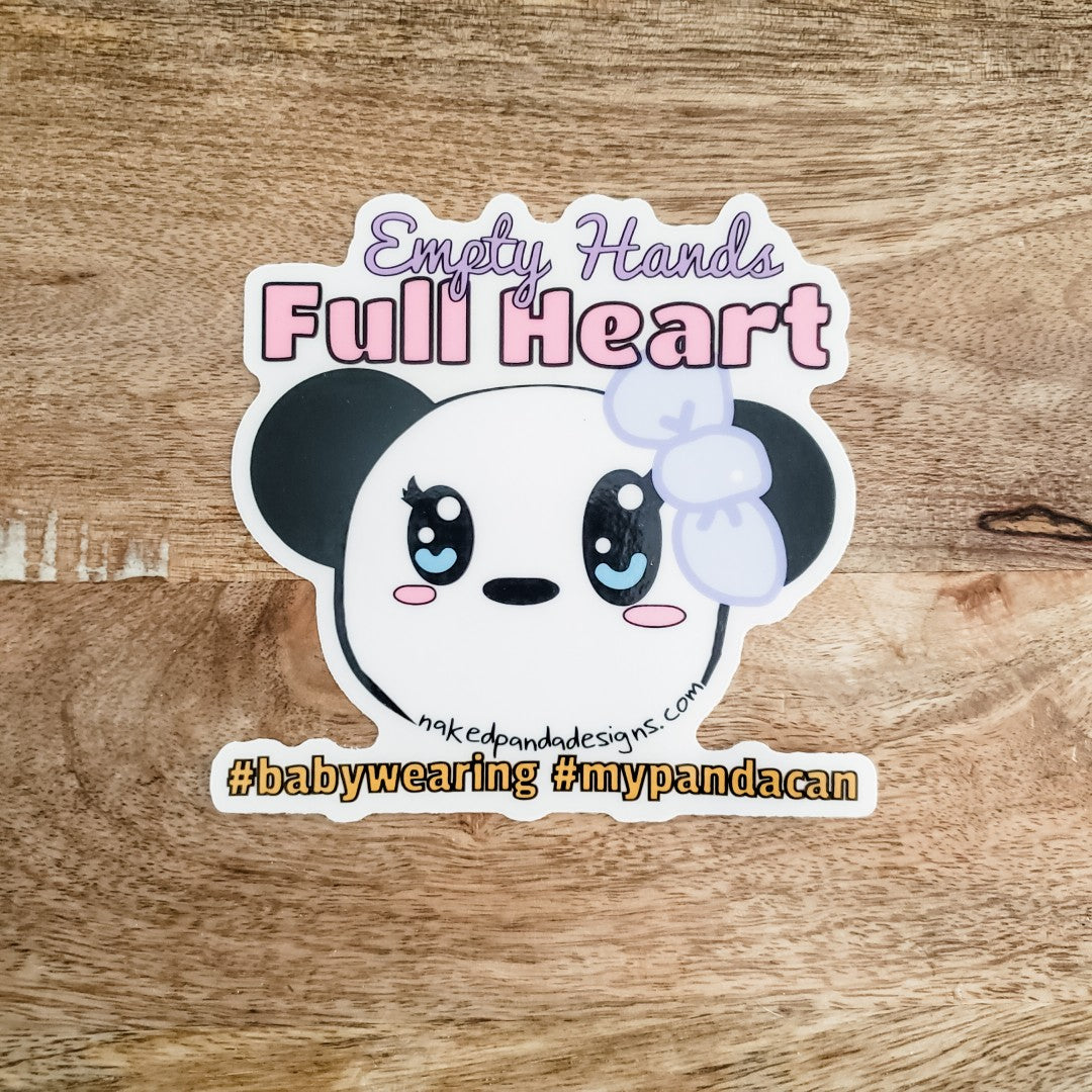 "4"" Full Heart Sticker"