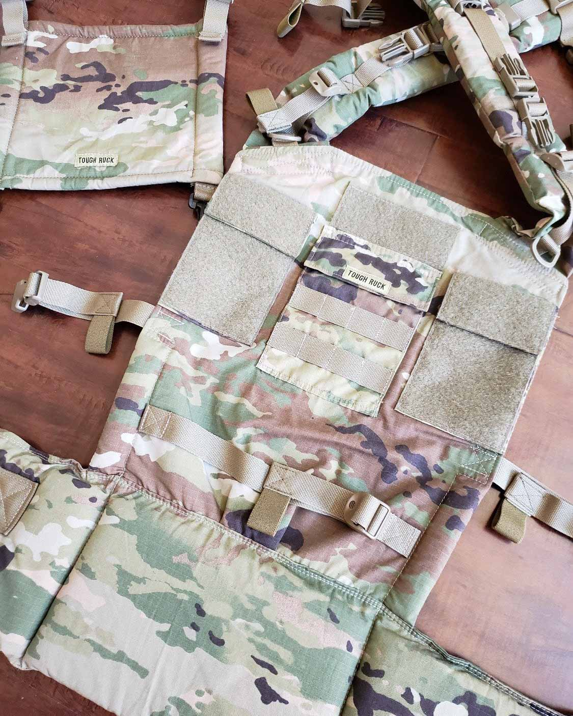 Multicam OCP Full Buckle by Tough Ruck - Naked Panda Designs LLC