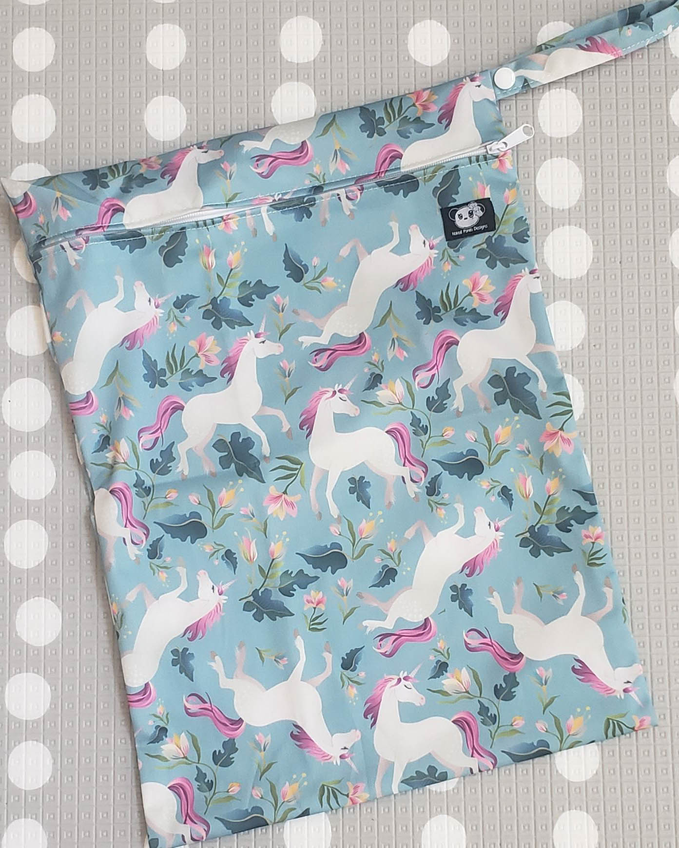 Unicorn Forest Wet Bag - Naked Panda Designs LLC