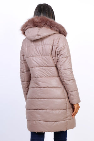 QUILTED DOWN JACKET - Hijab's Store